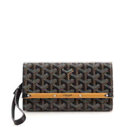 Monte Carlo Clutch Coated Canvas Mini