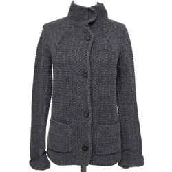 CHLOE Cardigan Sweater Knit Jacket CHARCOAL GREY Long Sleeve Sz XS 2011