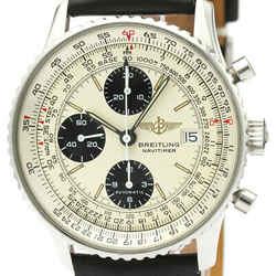 Polished BREITLING Old Navitimer Steel Automatic Mens Watch A13019 BF506034