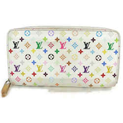 Louis Vuitton White Monogram Multicolor Zippy Wallet 862574