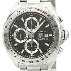 Polished TAG HEUER Formula 1 Calibre 16 Chronograph Mens Watch CAZ2010 BF518931