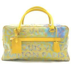 Louis Vuitton Richard Prince Jaune Denim Defile Weekender PM Pulp Bag 863056