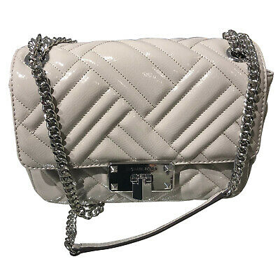 Women Message Bags Round Shoulder Bag Tweed Bags For Women Pearls Chain Bag