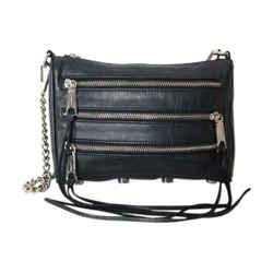 Rebecca Minkoff Small Leather Zipper Crossbody Bag