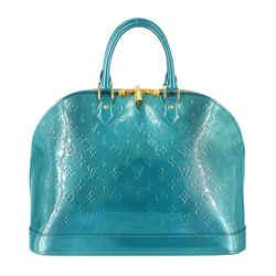 Louis Vuitton | Teal Vernis Alma GM Handbag