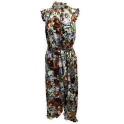 ERDEM Multicolor Sebla Cocktail Dress