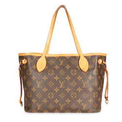 Louis Vuitton Brown Monogram Canvas Neverfull Pm