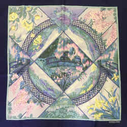 Hermes Giverny Square Silk Scarf