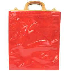 Louis Vuitton Red Monogram Vernis Stanton Tote Bag 863117