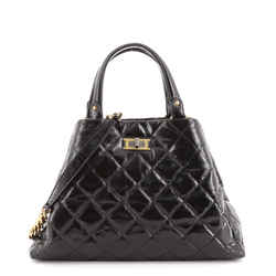 Reissue Shopping Tote Quilted Glazed Calfskin Large