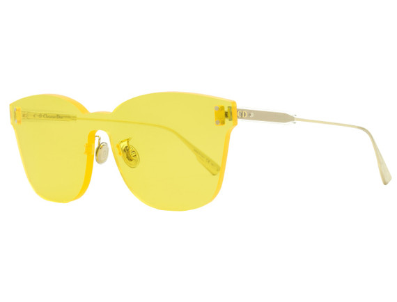 Dior Shield Sunglasses Diorcolorquake2 40gho Gold/clear 99mm