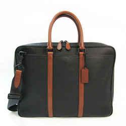 Coach Harness Metropolitan Slim 24777 Men's Leather Briefcase,Shoulder  BF528496
