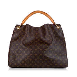 Brown Louis Vuitton Monogram Artsy MM Bag