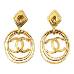 Chanel Earrings Vintage Hoops Worn 3 Ways Bold And Fabulous Rare
