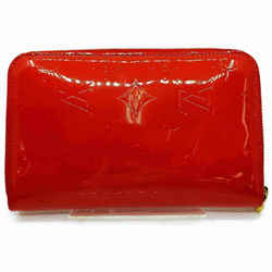 Louis Vuitton Monogram Vernis Red Zippy Organizer Wallet Zip Around GM 861162