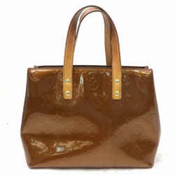 Louis Vuitton Bronze Monogram Vernis Copper Reade PM Tote 871758