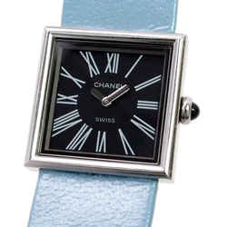 Vintage Authentic Chanel Blue Mademoiselle Watch Switzerland