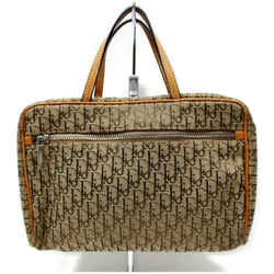 Dior Vanity Case Monogram Oblique Signature Trotter Brown Cosmetic 872388