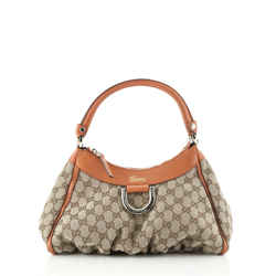 D Ring Hobo GG Canvas Small