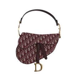 Oblique Canvas Saddle Bag