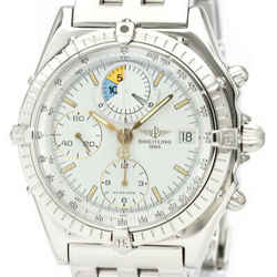 Polished BREITLING Chronomat Yacht Automatic Steel Mens Watch A13048 BF534543