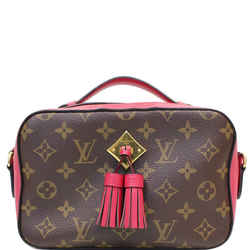Louis Vuitton Saintonge Monogram Canvas Shoulder Bag Freesia