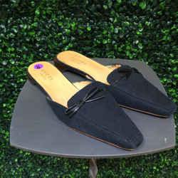 GUCCI Size 8 Black Flats