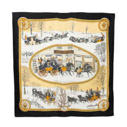 Hermes Bull And Mouth Regent's Circus Piccadilly Silk Scarf