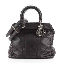 Granville Satchel Cannage Quilt Leather Medium
