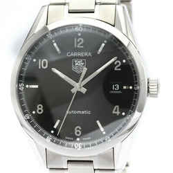 Polished TAG HEUER Carrera Calibre 5 Steel Automatic Mens Watch WV211B BF517501
