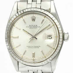 Vintage ROLEX Datejust 1603 Stainless Steel Automatic Mens Watch BF529372