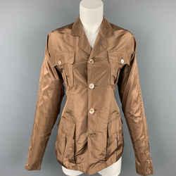 JEAN PAUL GAULTIER Reedition 1986 Size 6 Copper Silk Jacket