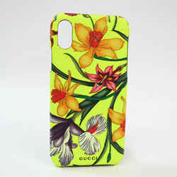Gucci PVC Phone Bumper For IPhone X Multi-color,Yellow Flower pattern 5 BF528252