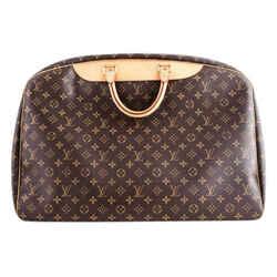 Louis Vuitton Monogram Canvas Alize 1 Poche Soft Suitcase