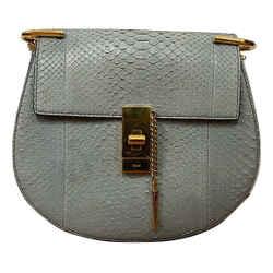 Drew Snakeskin Bag