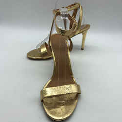 Tory Burch Gold Metallic Heel 9