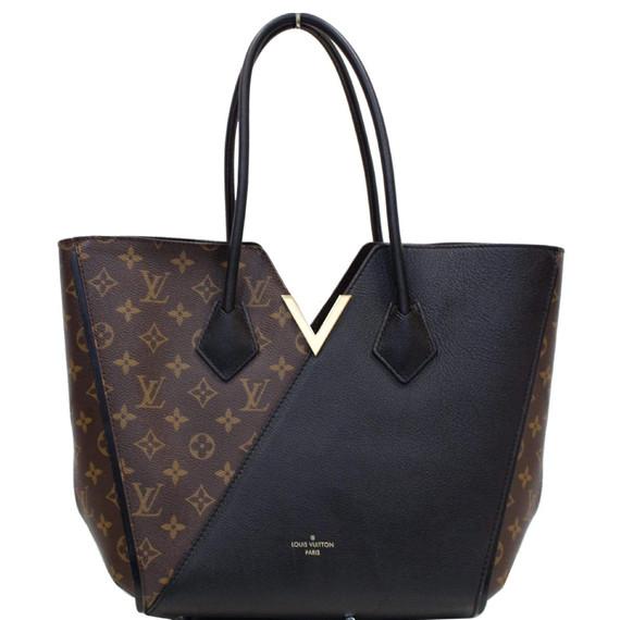 Louis Vuitton Kimono Monogram Calfskin Tote Bag Brown/black