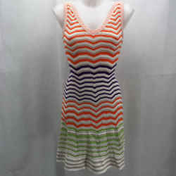 Missoni Orange Sleeveless Dress 2