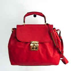 Chloe Elsie Women's Leather Handbag,Shoulder Bag Dark Red BF524471