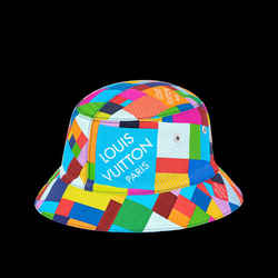Louis Vuitton Size 60 Multicolor Damie 3D Bucket Hat Bob Fisherman 28lvs121
