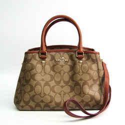 Coach Signature Luxury Mini Margot Carryall F34605 Women's Leather,Coat BF512490