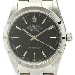 Polished Rolex Air King A Serial Steel Automatic Mens Watch 14010 Bf341809