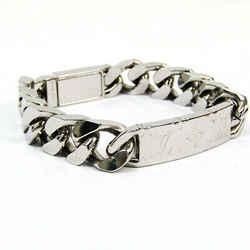 Louis Vuitton Chain Bracelet Monogram M62486 Metal Bracelet Silver BF517060