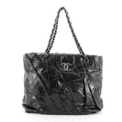 Twisted Tote Glazed Calfskin Medium