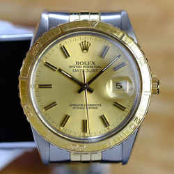 Rolex Mens Datejust 16253 Thunderbird Champagne-ALL FACTORY