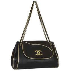 Chanel Jumbo Lambskin Flap Shoulder Bag