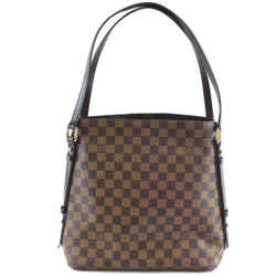 Louis Vuitton Cabas Rivington Damier Ebene Canvas