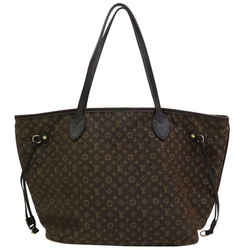 Louis Vuitton Monogram Ebene Mini Lin Idylle Neverfull MM 871291