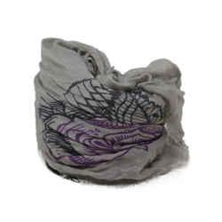 Zadig & Voltaire Grey Floral Print Scarf