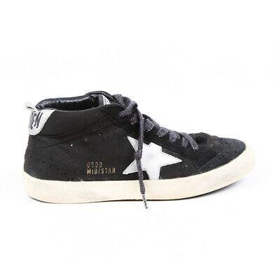 Golden Goose Sneakers Mid/Star Black